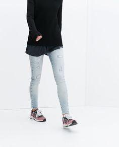 £30 Image 3 of SKINNY JEANS from Zara