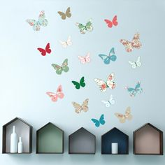 Butterfly! Walldecal to decorate  your home.
