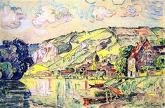 The Athenaeum - Les Andelys (Paul Signac - )