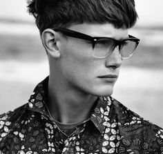 Inspiration Pic - Strong fringes are on their way back in. #MensHair #HairInspiration - Men's Hair