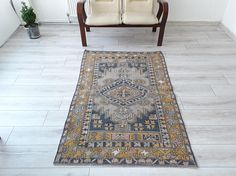 Welcome to VINTAGECOME  Home Office Decor Rug Vintage kilim rug turkish anatolian handwoven rug tribal hand knotted rug study room rug vintage anatolian Kilim rug  finely hand knotted, well preserved condition  professionally cleaned and ready Organic Wool 100%  Payment: Direct Checkout & Paypal  170 x 110 cm 67 x 43 inches  VV:82