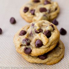 With a secret key ingredient, these are the softest, thickest, most perfect choc. - That's The Way The Cookie Crumbles - Yorgo Perfect Chocolate Chip Cookies, Thats The Way, Key Ingredient, Recipes, Food, Cupcake, Snacks, Outfit, Outfits