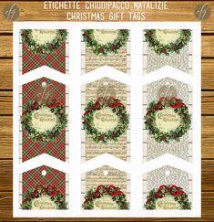 Christmas Greeting tags