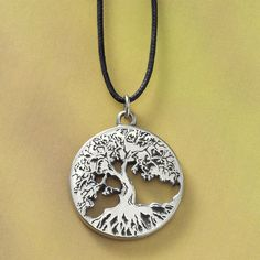 Pewter Tree of Life Pendant - New Age & Spiritual Gifts at Pyramid Collection