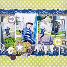 On A Swing *DT Craft4You* - Scrapbook.com