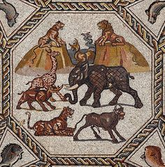 Roman Mosaic from Lod, Israel