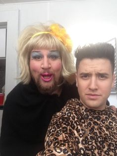 Gustavo and Logan from Big Time Rush