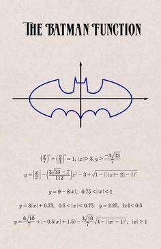 Batman - Math Posters                                                                                                                                                                                 More