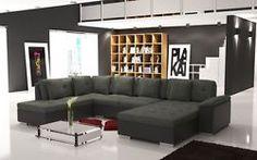 Couch Garnitur Ecksofa Sofagarnitur Sofa ALMA 3 Wohnlandschaft Polstergarnitur