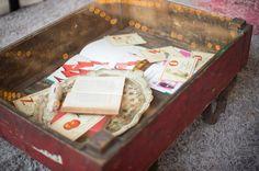 Found Vintage Rentals #wagon #vintage #eventdecor #eventdetails #vintagerentals