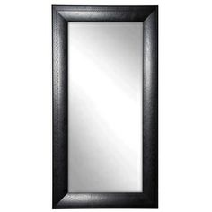 Check out the Rayne Mirrors Jovie Jane x Stitched Leather Floor Mirror in Black Leather Wall, Red Barrel Studio, Mirrors Wayfair, Modern Contemporary, Mirror Wall, Floor Mirror, Modern, Glass Mirror, Contemporary Wall Mirrors