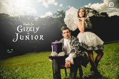 Ensaio Fotográfico Temático: Sucesso entre os Casais de Noivos | Blog Site da Noiva - Ensaio Gizely + Junior | No País das Maravilhas