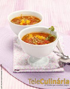 Caldo de legumes aromáticos - Clique na imagem para ver a receita