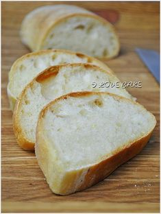 Ciabatta - przepis - I Love Bake Ciabatta, Muffins, Cooking Recipes, Lunch, Baking, Breads, Salad, Foods, January