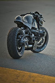 For six months, four of Japan's top custom workshops have been tearing down and rebuilding BMW's R nineT roadster. This extraordinary machine comes from Cherry's Company: a brutal roadburner nicknamed Highway Fighter. See more pics and read the story at http://www.bikeexif.com/r-nine-t