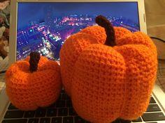 3D Crocheted Pumpkins
