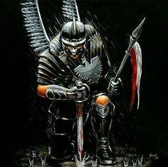 More Pins for your board Sea-The Samartian Commonwealth Polish Eagle Tattoo, Polish Tattoos, Medieval Fantasy, Dark Fantasy, Fantasy Art, Knight Tattoo, Angel Warrior, Human Art, Sleeve Tattoos