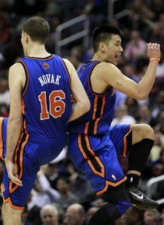The Lin and Novak show!