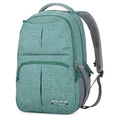 51e6343fa8e8 College Backpack for Men Women Water Resistant Travel Backpack Laptop  Backpacks Fits Under 16 Inch Laptop Notebook by BOLANG. Backpacksbaby · Best  School ...