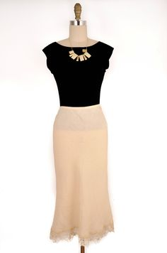 ABS Beige Maxi Skirt Size S #summer #fashion #style