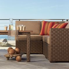 Point Reyes Collection Piece Dining Set Dining Furniture - Osh patio furniture