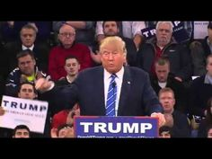Donald Trump Lowell Massachusetts FULL Speech part 1
