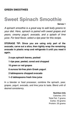 Smoothie Recipes, Diet Recipes, Smoothies, Healthy Recipes, Body Reset Diet, Healthy Life, Healthy Eating, Eat To Live, 21 Day Fix