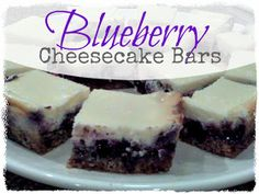 Life's Simple Measures: Tried & True Tuesday: Blueberry Cheesecake Bars
