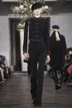 Ralp Lauren fall 2013 - gorgeous jacket