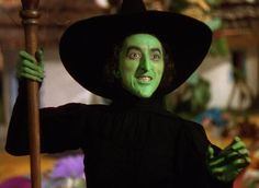 """Margaret Hamilton played the wicked witch of the west in """"The Wizard of Oz"""" She is one of the most unforgettable characters in film history. She made the role amazing. MH"""