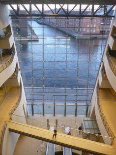 The Black Diamond (Danish: Den Sorte Diamant) is a modern waterfront extension to the Royal Danish Library in Copenhagen