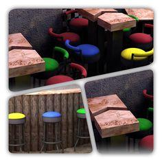 Tasarım Bar sandalyesi...🍺🥃🍷