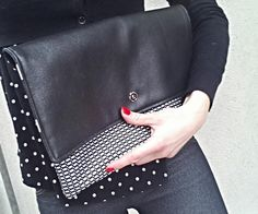 Maxi pochette a rete primavera/estate 2015, clutch di Virgin - Handmade Bags and more  su DaWanda.com