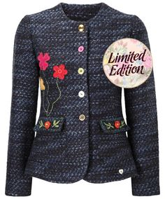 Beautiful Boucle Jacket  - Beautiful Boucle Jacket, Women's Coats and Jackets, Womens Clothing, Clothing, Accessories, Joe Browns