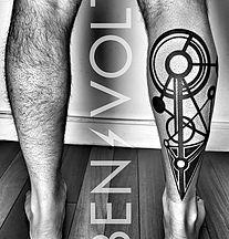 Custom Blackwork and Graphic Tattoo Artist. San Francisco.