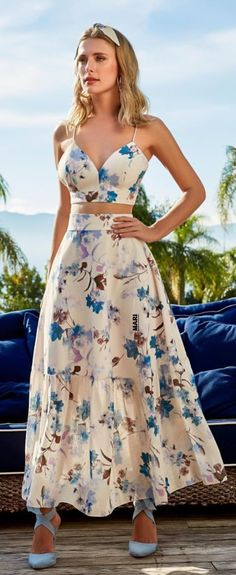 Sweet 16 Dresses, Casual Dresses, Summer Dresses, Skirt Fashion, Fashion Dresses, Cute Skirt Outfits, Girly Outfits, Looks Chic, Girls Fashion Clothes