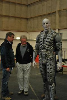 Designer H. Giger, who worked on the original design of the Xenomorph Alien, was brought in to assist in reverse-engineering the design of the Aliens in the film. Alien 1979, Aliens Movie, Aliens And Ufos, Scene Image, Scene Photo, Prometheus Movie, Prometheus 2012, Prometheus Engineer, Alien Origin