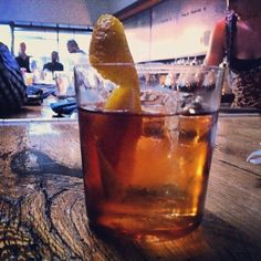 Bar Agricole's Whiz Bang is a blend of scotch, vermouth, grenadine, absinthe and bitters