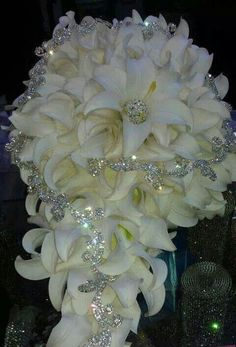 Bouquet with bling