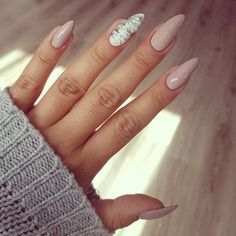 "884 Likes, 19 Comments - Magda Skowronek (@magdalen97) on Instagram: ""śliczności  #new #nails #beautiful #nude #nails #autumn #nails #love #them"""