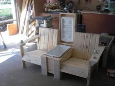 Outdoor Chairs, Outdoor Furniture, Outdoor Decor, Oak Creek, Girl House, Perfectly Imperfect, Wisconsin, Woodworking, Big