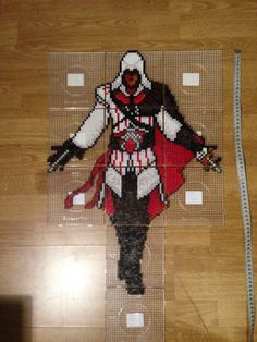 Ezio perler beads assassin's creed