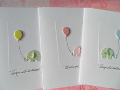 Baby Shower Cards  Baby Shower Thank You Cards  by suziescards, $3.00