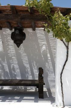 Buitenleven | Tuin inrichten in Ibiza stijl - www.stijlvolstyling.com
