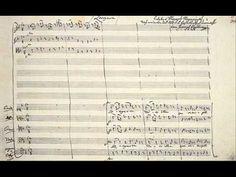 Requiem. Last notes of Mozart's original, unfinished Lacrimosa.