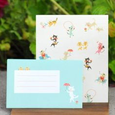 Ginko Papers - Letter Sets - Skip Step Animals - Cat Frenzy!