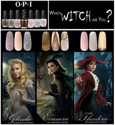 O.P.I Oz The Great and Powerful Nail Polish Collection! Which Witch are You?