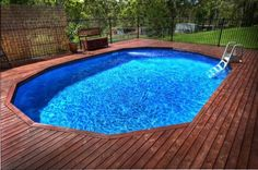 petite piscine hors sol, jolie petite piscine