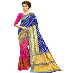 Buy Now Fabulous and Silk Party Wear Saree at Wholesale Price From Textile Infomedia Surat Indian Sarees, Silk Sarees, Bollywood Designer Sarees, Indian Party Wear, Party Wear Sarees, Sari, Blouse, Skirts, How To Wear