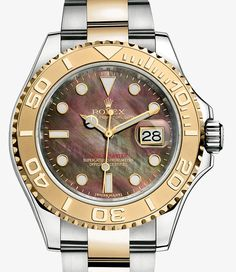 Rolex Yacht-Master 40 Watch: Yellow Rolesor - combination of 904L steel and 18 ct yellow gold - 16623